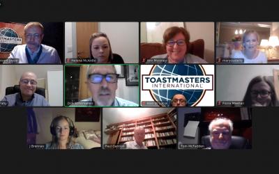 Castlebar Toastmasters Returns Virtually
